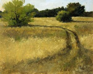 South Pasture Road-Painting-Peggy Immel-Sorrel Sky Gallery