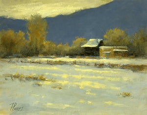 Surprise October Snow-Painting-Peggy Immel-Sorrel Sky Gallery