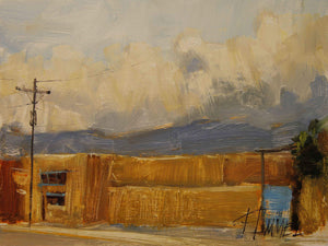Peggy Immel-Taos Cloud Show-Sorrel Sky Gallery-Painting