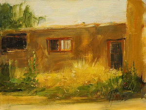 Peggy Immel-The Back Door-Sorrel Sky Gallery-Painting