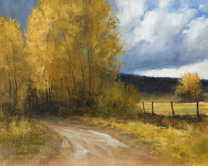 Peggy Immel-Welcome Autumn Rain-Sorrel Sky Gallery-Painting