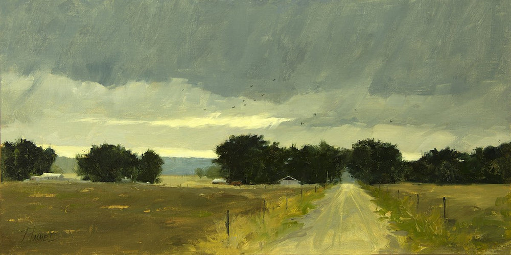 Welcome Rain-Painting-Peggy Immel-Sorrel Sky Gallery
