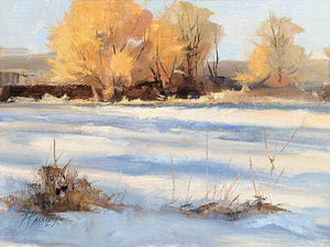 Peggy Immel-Willows and Snow-Sorrel Sky Gallery-Painting