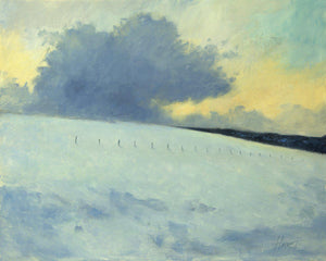 Winter at 10,000 Feet-Painting-Peggy Immel-Sorrel Sky Gallery