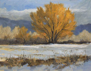 Peggy Immel-Winter Finery-Sorrel Sky Gallery-Painting