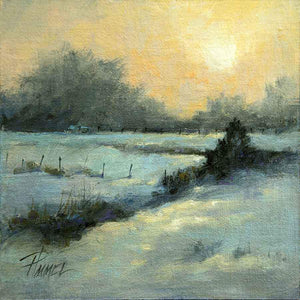 Peggy Immel-Winter Glow-Sorrel Sky Gallery-Painting