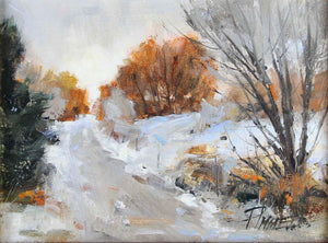 Peggy Immel-Winter Hillside-Sorrel Sky Gallery-Painting