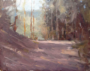 Peter Grab-Sorrel Sky Gallery-Painting-Big Tesuque Trail