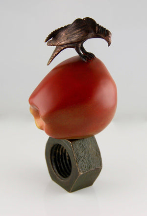 Peter Woytuk-Apple of His Eye-Sorrel Sky Gallery-Sculpture