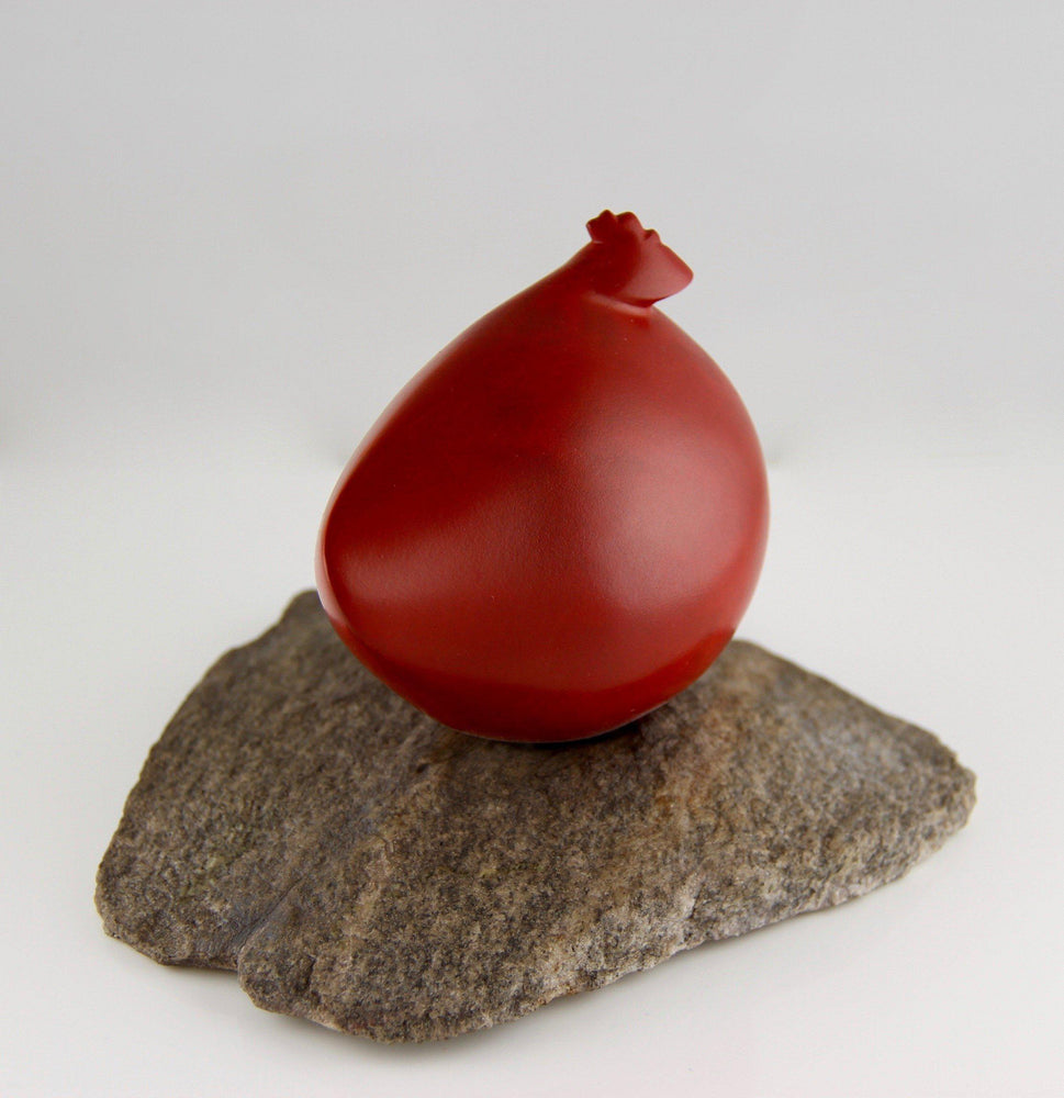 Peter Woytuk-Small Red Hen-Sorrel Sky Gallery-Sculpture