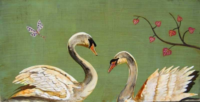 Feng Swans