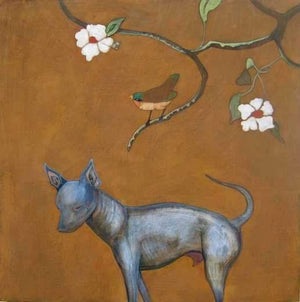 Phyllis Stapler-Sorrel Sky Gallery-Painting-Hairless Dog