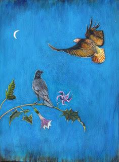 Hawk and Raven-Print-Phyllis Stapler-Sorrel Sky Gallery