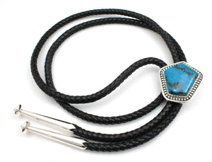 Chrysocolla Bolo Tie-Jewelry-Ray Tracey-Sorrel Sky Gallery