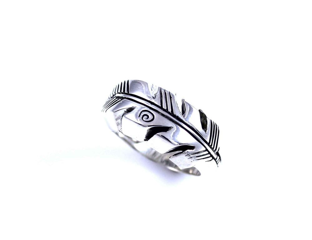 Ray Tracey-Feather Ring-Sorrel Sky Gallery-Jewelry