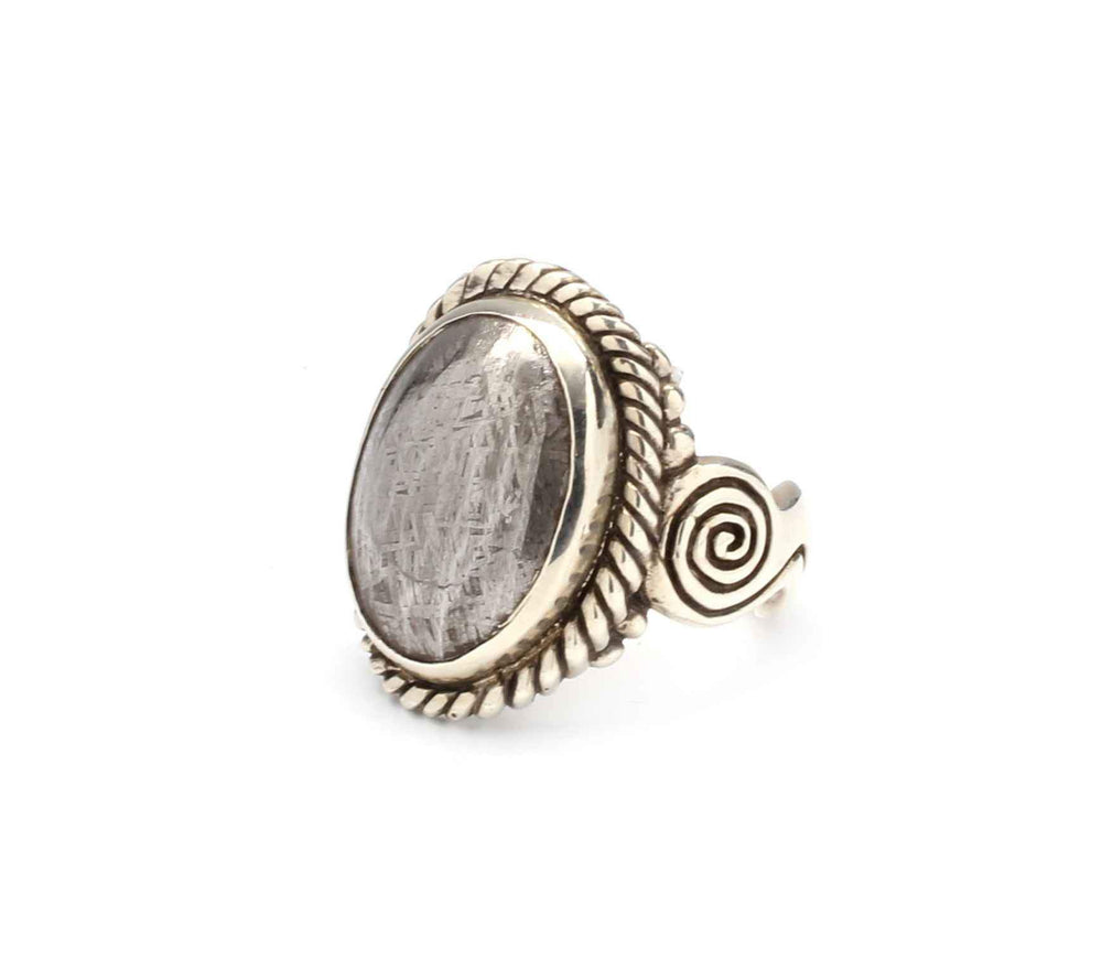 Ray Tracey-Gibean Meteroite Ring-Sorrel Sky Gallery-Jewelry