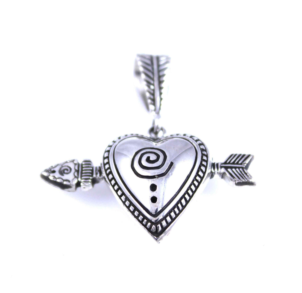 Heart Arrow Pendant