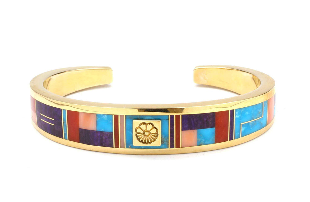 Ray Tracey-Inlaid Bracelet-Sorrel Sky Gallery-Jewelry
