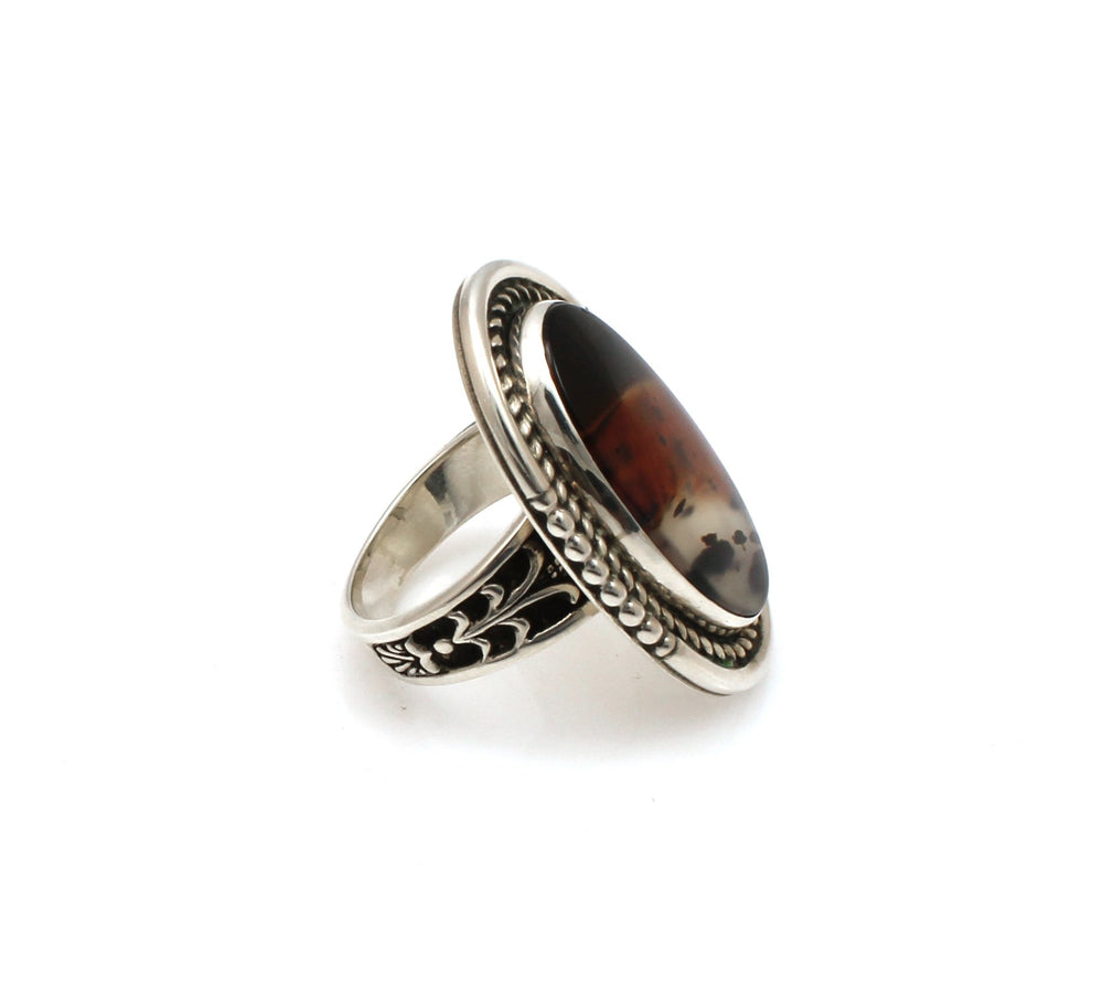 Montana Agate Ring-Jewelry-Ray Tracey-Sorrel Sky Gallery