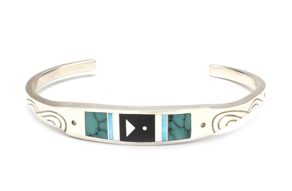 Ray Tracey-Narrow Cuff Bracelet-Sorrel Sky Gallery-Jewelry