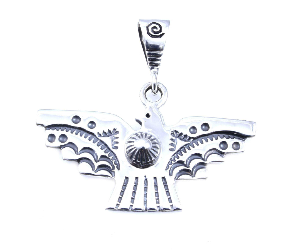Ray Tracey-Small Thunderbird Pendant-Sorrel Sky Gallery-Jewelry