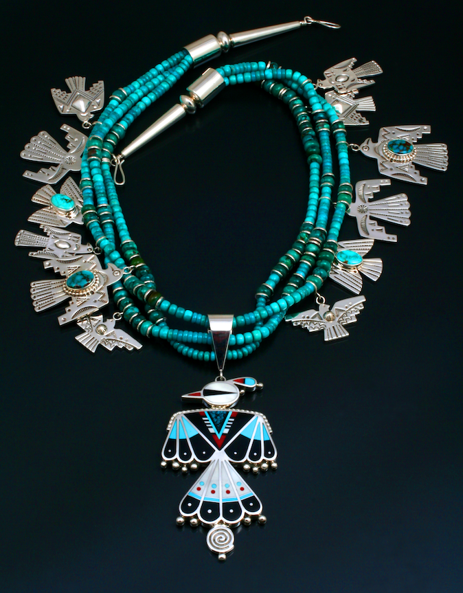 Thunderbird Necklace-Jewelry-Ray Tracey-Sorrel Sky Gallery