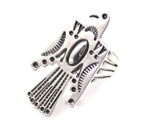 Ray Tracey-Thunderbird Ring-Sorrel Sky Gallery-Jewelry