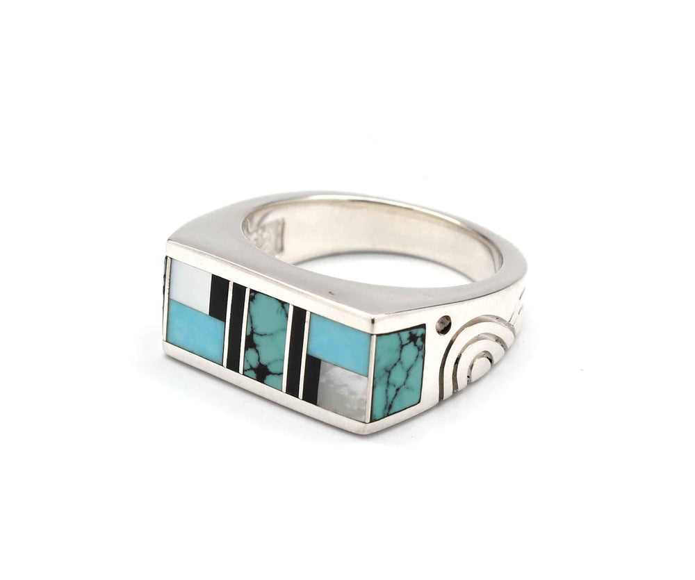 Ray Tracey-Wide Flat Top Ring-Sorrel Sky Gallery-Jewelry