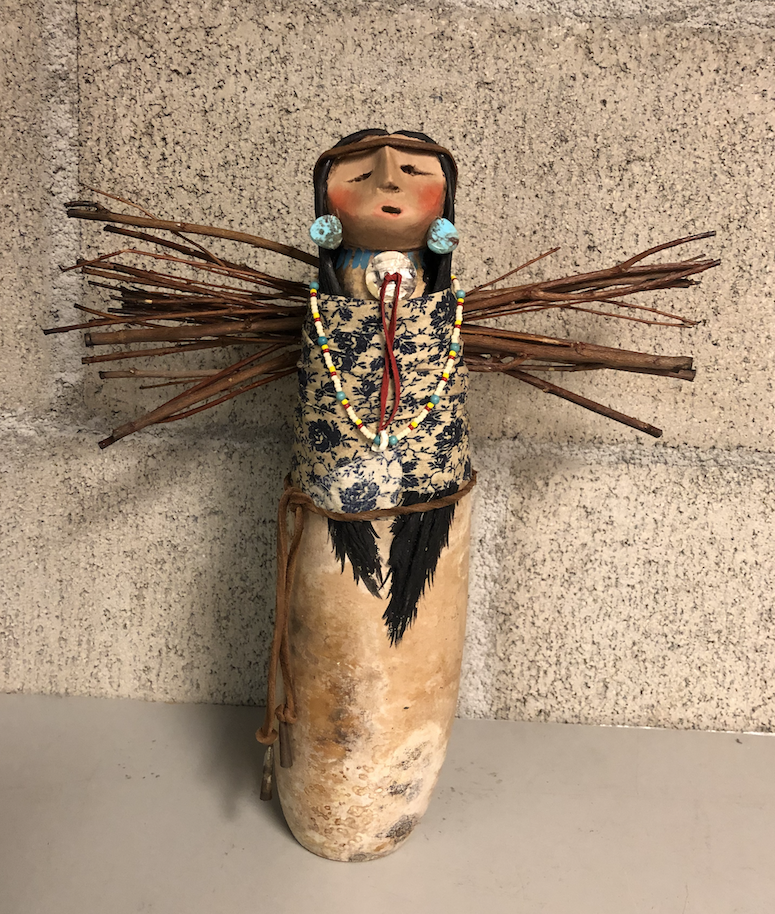 Apache Stick Lady