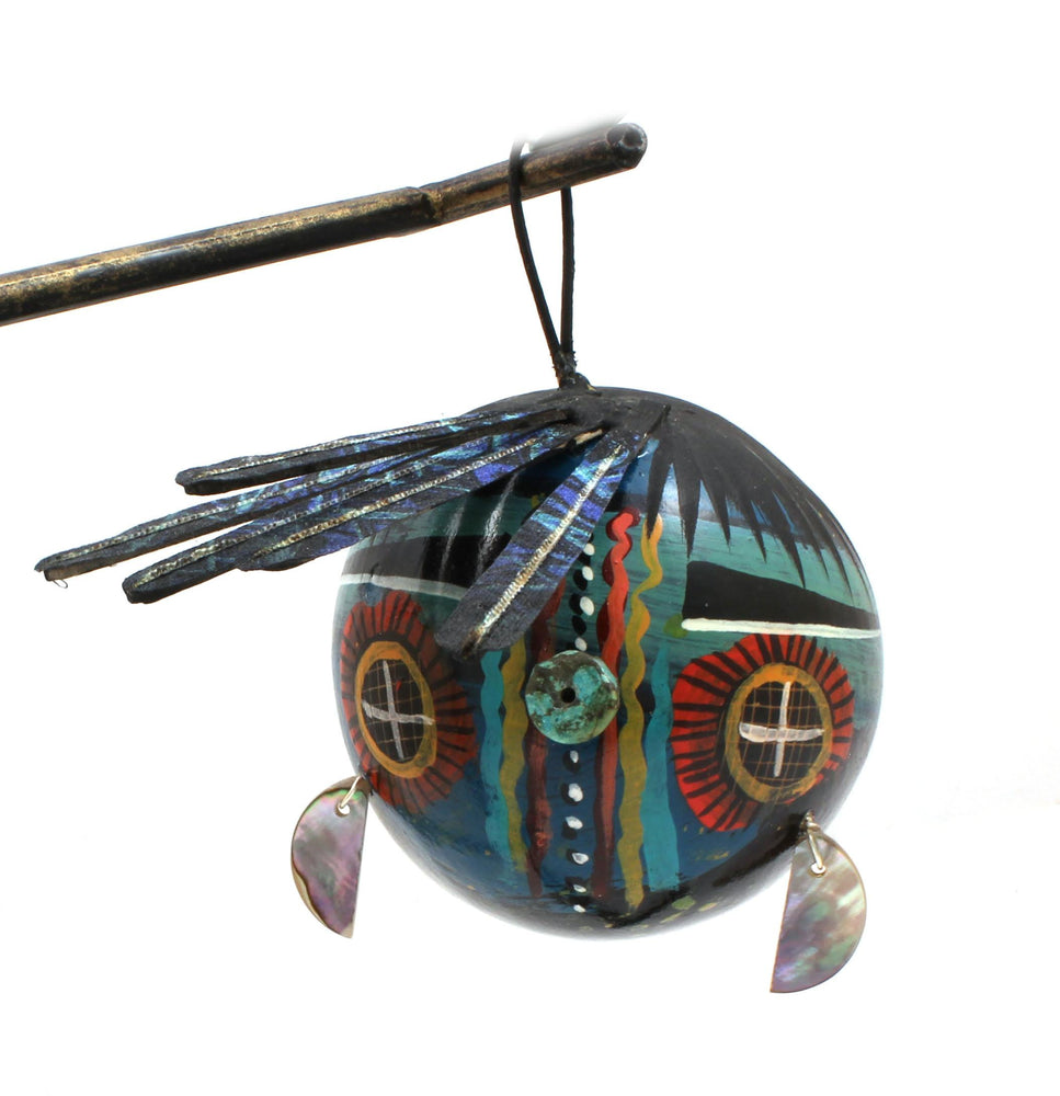 Kachina Face Ornament