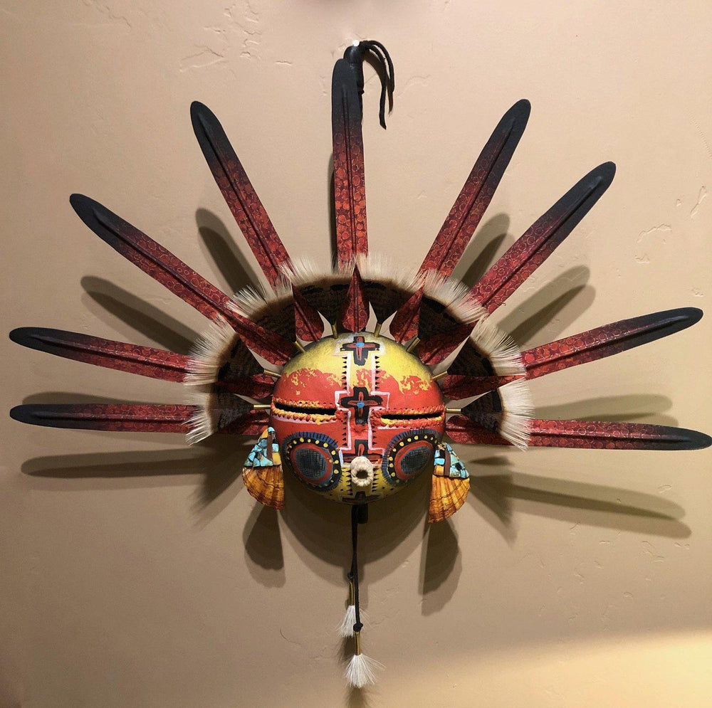 Kachina Rattle-Sculpture-Robert Rivera-Sorrel Sky Gallery