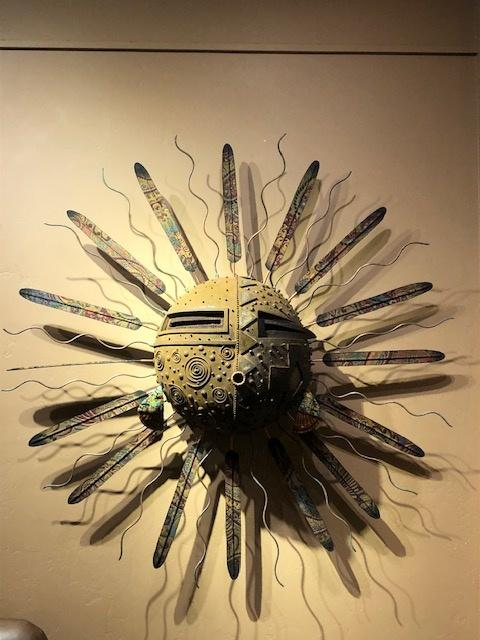 Large Sun Mask-Sculpture-Robert Rivera-Sorrel Sky Gallery
