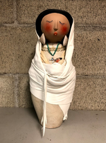 Mother And Child Gourd Figure