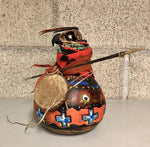 Red Hawk Warrior Gourd
