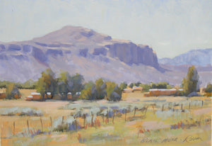 Robert Rohm-Sorrel Sky Gallery-Painting-Black Mesa