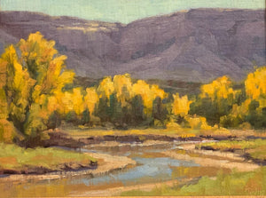 Robert Rohm-Sorrel Sky Gallery-Painting-Chama River