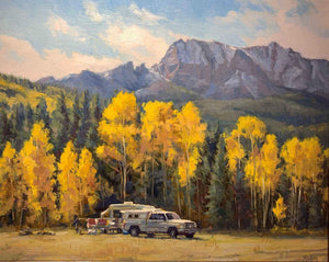 Robert Rohm-Sorrel Sky Gallery-Painting-Fall Camp