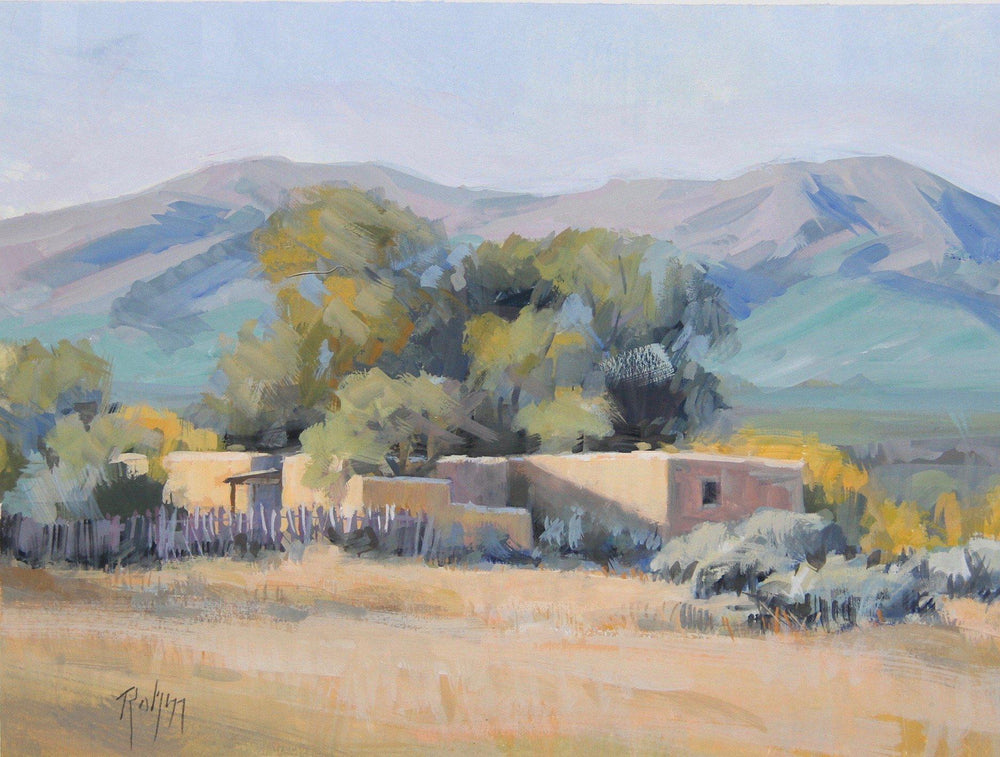 Robert Rohm-Sorrel Sky Gallery-Painting-Hill Side