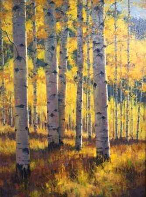 Robert Rohm-Sorrel Sky Gallery-Painting-Mountain Gold