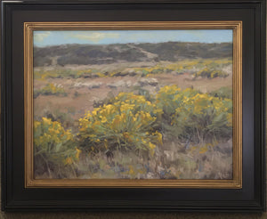 Rabbit Bush-Painting-Robert Rohm-Sorrel Sky Gallery