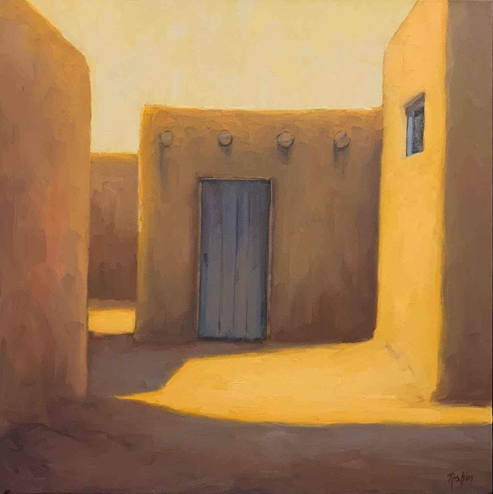 Robert Rohm-Sorrel Sky Gallery-Painting-Taos Morning