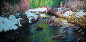 Coal Creek-Painting-Roberto Ugalde-Sorrel Sky Gallery