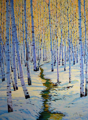 Early Winter-Painting-Roberto Ugalde-Sorrel Sky Gallery