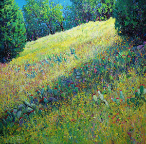 Hill Country Summer-Painting-Roberto Ugalde-Sorrel Sky Gallery