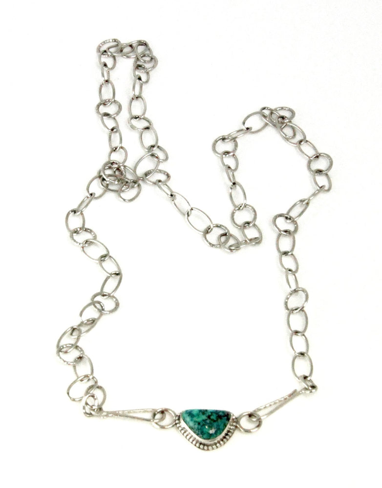 Chain with Turquoise Double Clasp