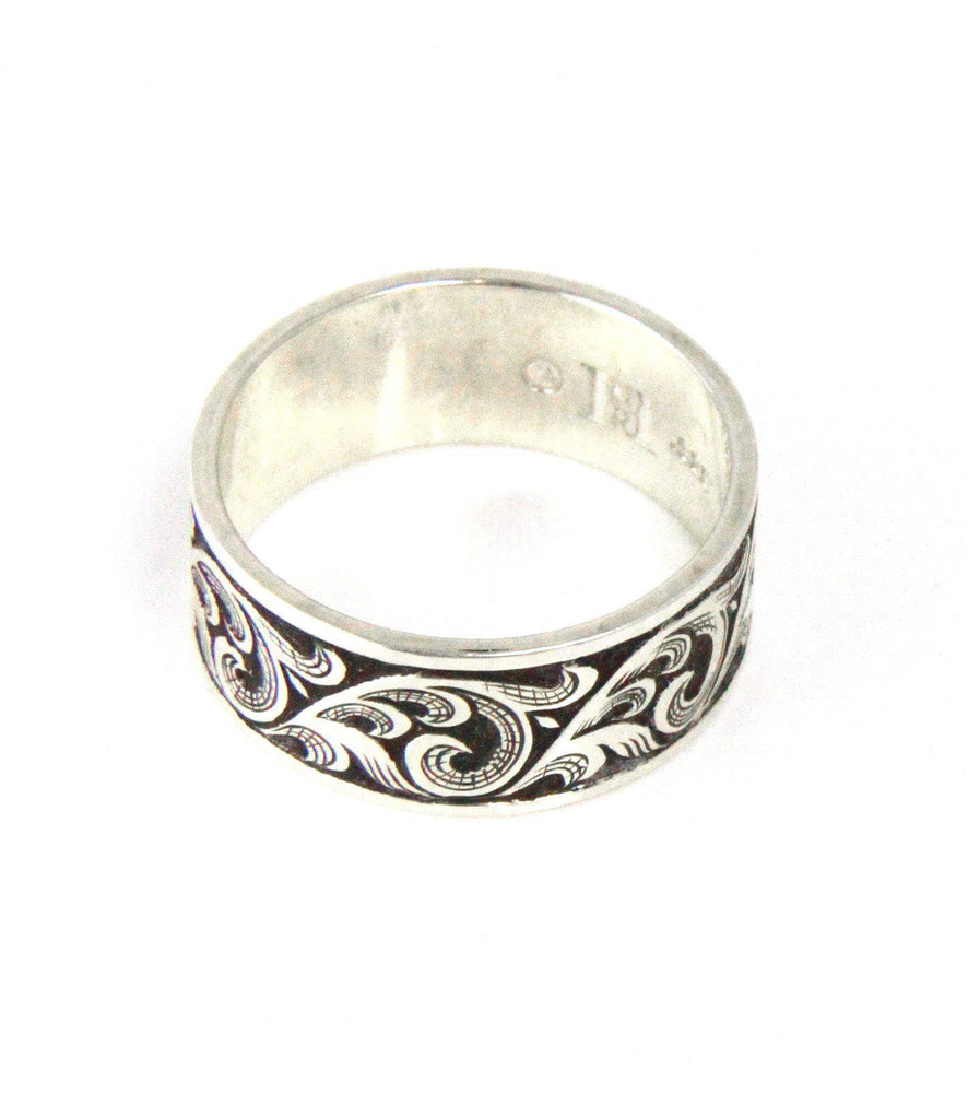 Oxidized Flourish Ring-Jewelry-Shane Hendren-Sorrel Sky Gallery