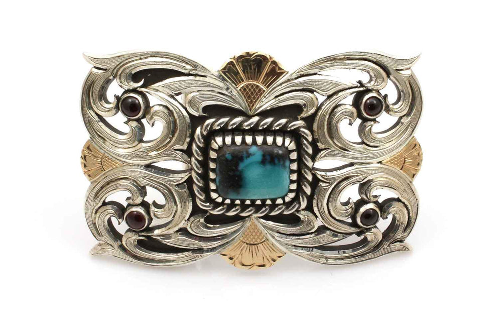 Spring Bling Belt Buckle