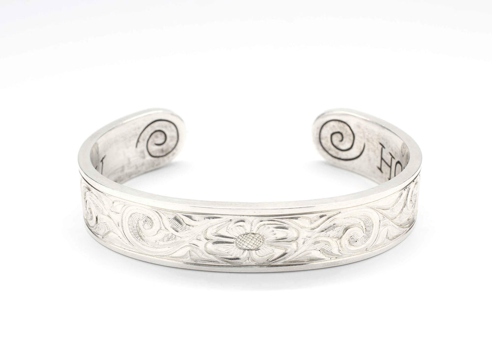 Walk In Beauty Sterling Silver Cuff Bracelet