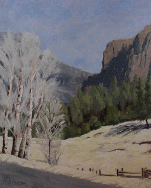 Sharon Abshagen-Sorrel Sky Gallery-Painting-North To Wolf Creek