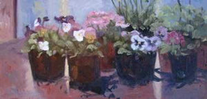 Sharon Abshagen-Sorrel Sky Gallery-Painting-Ready For Planting